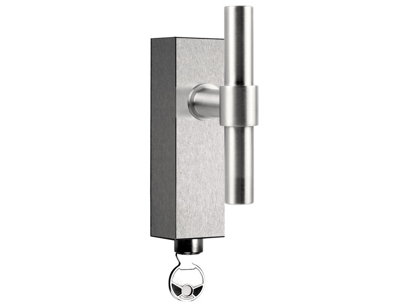 Stainless steel Cremone handle with lock ONE | Cremone handle with lock - Formani Holland B.V.