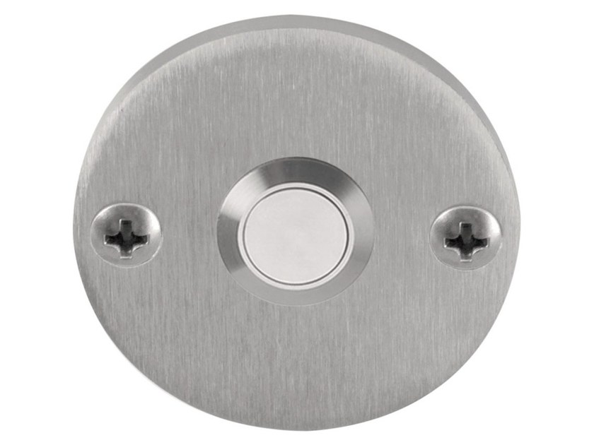 Stainless steel doorbell button ONE | Doorbell button - Formani Holland B.V.