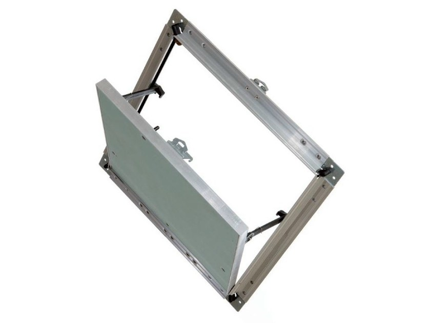 Aluminium inspection chamber for suspended ceiling GYPROC | Inspection chamber - Saint-Gobain Gyproc