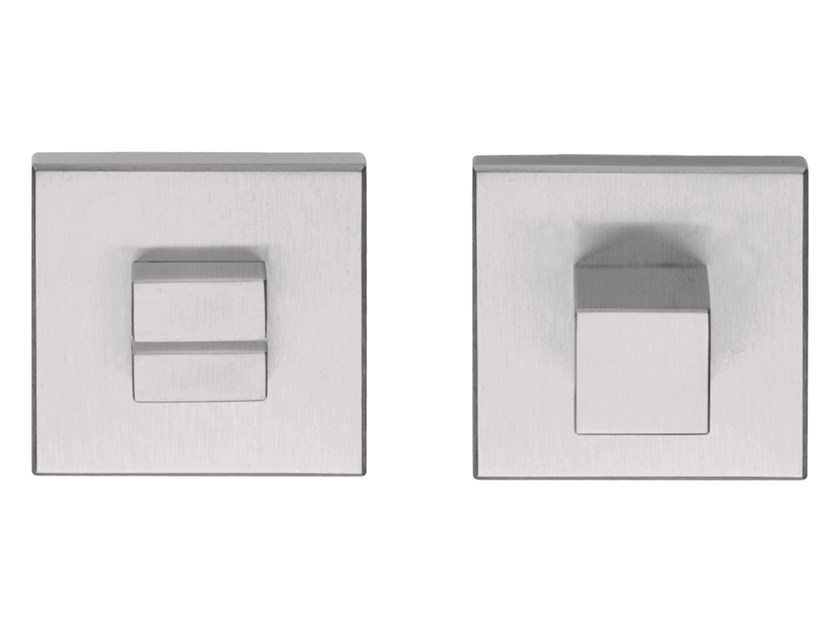 Brushed steel WC turn SQUARE | WC turn by Formani