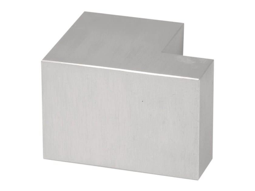 Stainless steel door knob SQUARE   Door knob - Formani Holland B.V.
