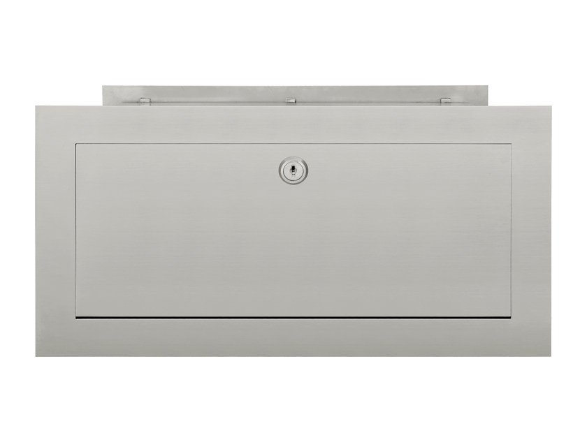 Stainless steel mailbox SQUARE | Mailbox - Formani Holland B.V.