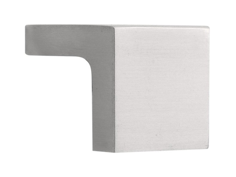 Stainless steel Furniture knob SQUARE | Furniture knob - Formani Holland B.V.