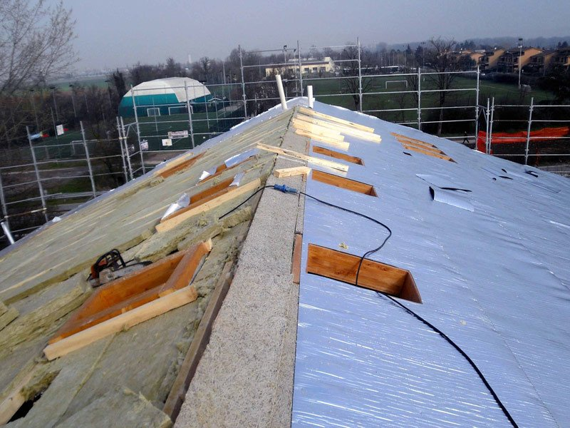 Aluminium thermal insulation felt OVER-FOIL CLIMA - OVER-ALL
