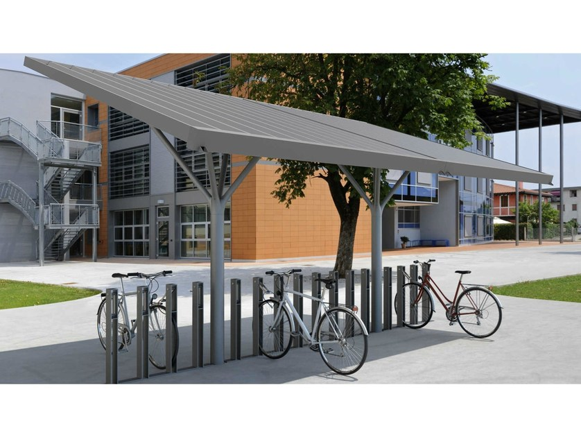 Steel porch for bicycles and motorcycles NEKKAR - Metalco