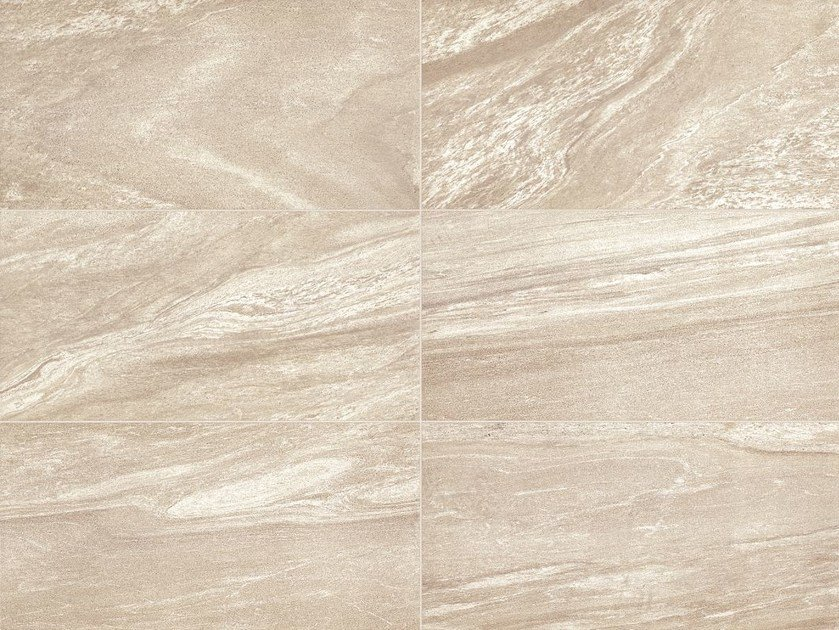 Glazed stoneware flooring with marble effect MINERAL D LIVING Zolfo - Italgraniti