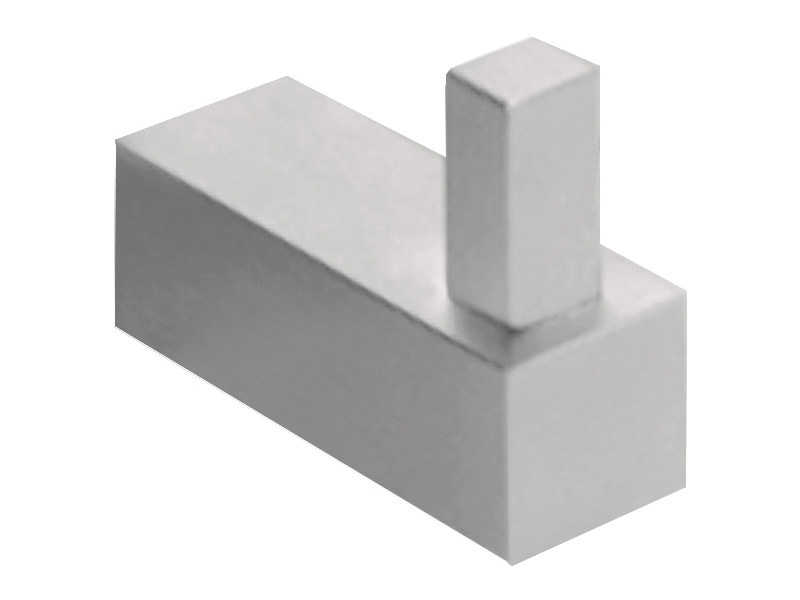 Stainless steel wall hook SQUARE | Wall hook - Formani Holland B.V.