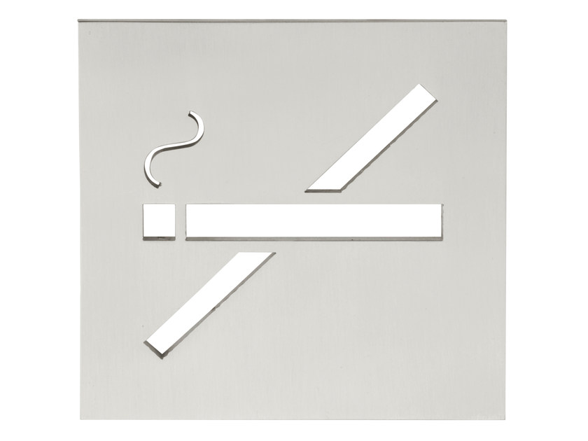Stainless steel sign SQUARE | Sign - Formani Holland B.V.