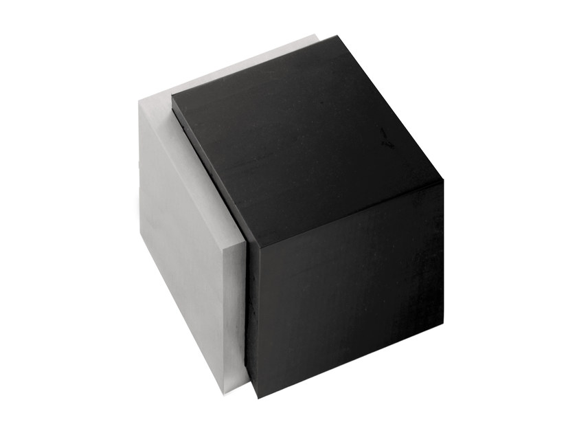 Stainless steel floor mounted doorstop SQUARE | Doorstop - Formani Holland B.V.