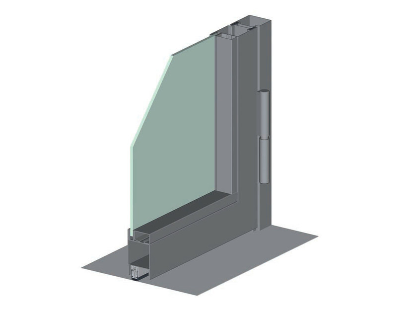 Fire stop window JANSEN ECONOMY 50 FIRE - Jansen