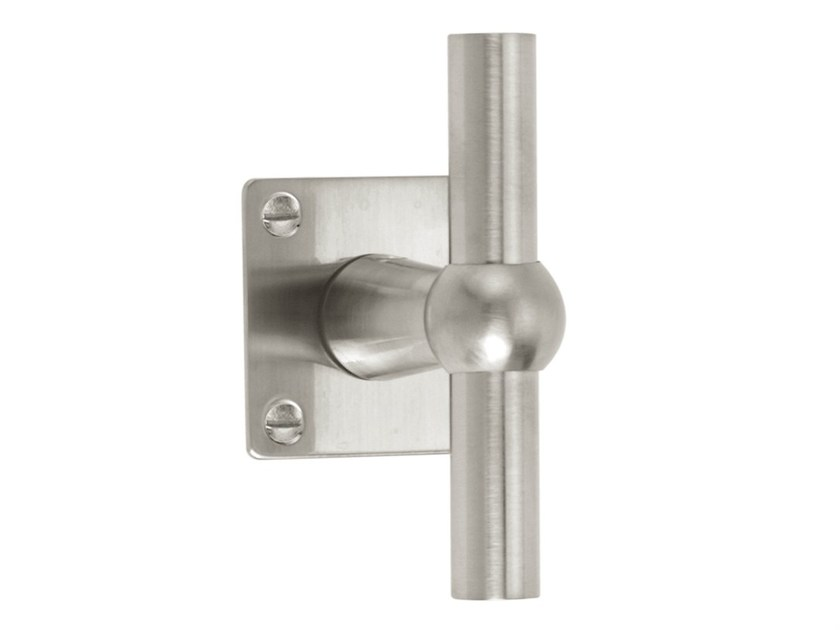 Nickel door handle on rose TIMELESS 1910 | Door handle on rose - Formani Holland B.V.