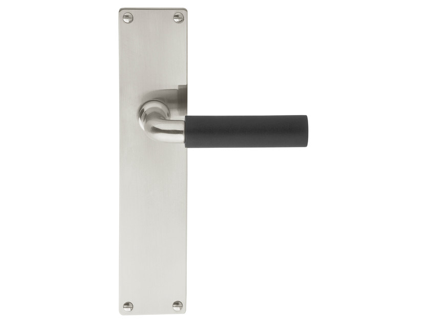 Ebony door handle on back plate TIMELESS 1923 | Ebony door handle - Formani Holland B.V.