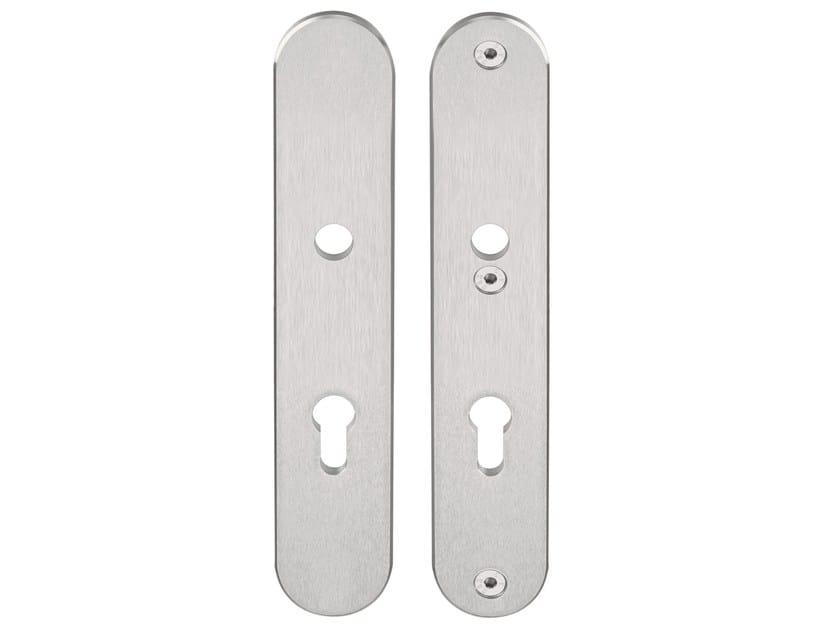 Rectangular stainless steel backplate FERROVIA | Stainless steel backplate - Formani Holland B.V.
