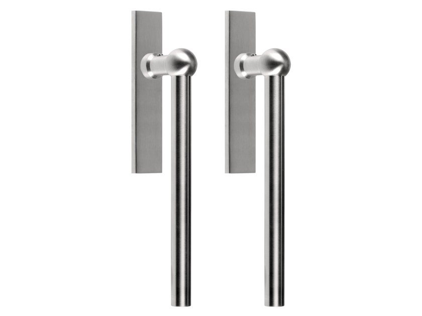 Stainless steel pull handle for sliding doors FERROVIA | Stainless steel pull handle by Formani
