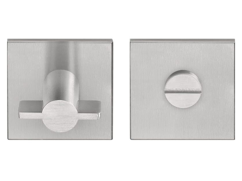 Brushed steel WC turn EDGY | WC turn - Formani Holland B.V.