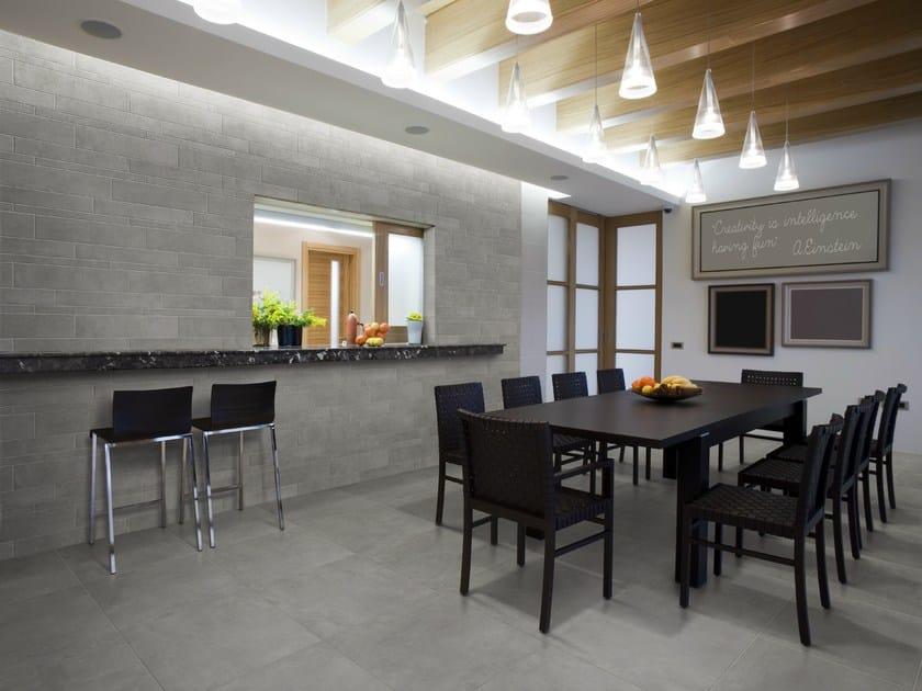 rev tement de sol mur en gr s c rame effet b ton beton by grestec tiles. Black Bedroom Furniture Sets. Home Design Ideas