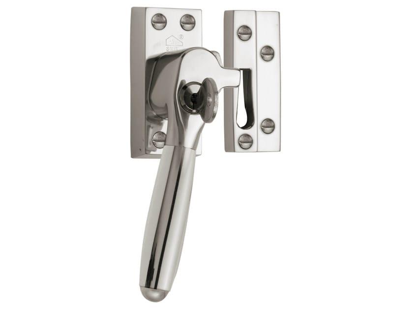 Nickel window handle with lock TIMELESS | Window handle with lock - Formani Holland B.V.