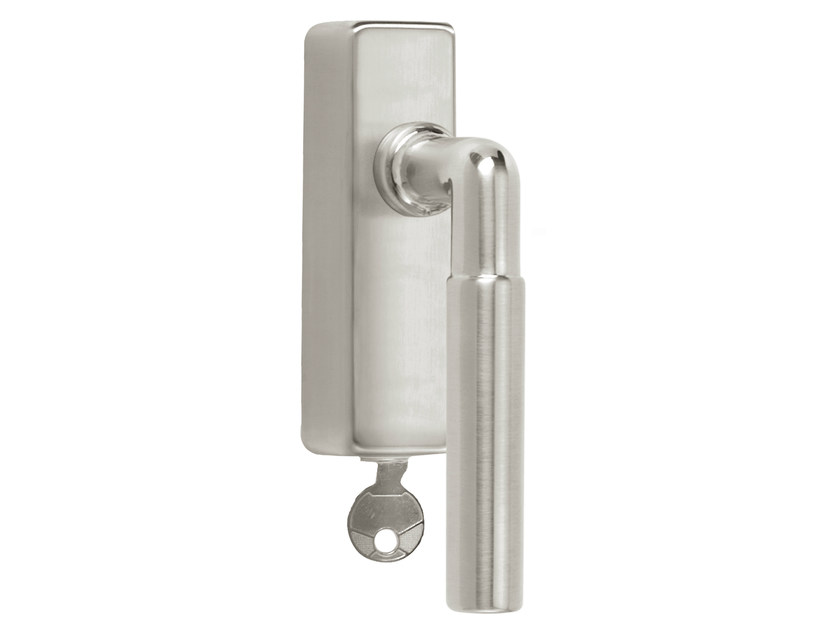 DK nickel window handle with lock TIMELESS 1924 | Window handle with lock - Formani Holland B.V.