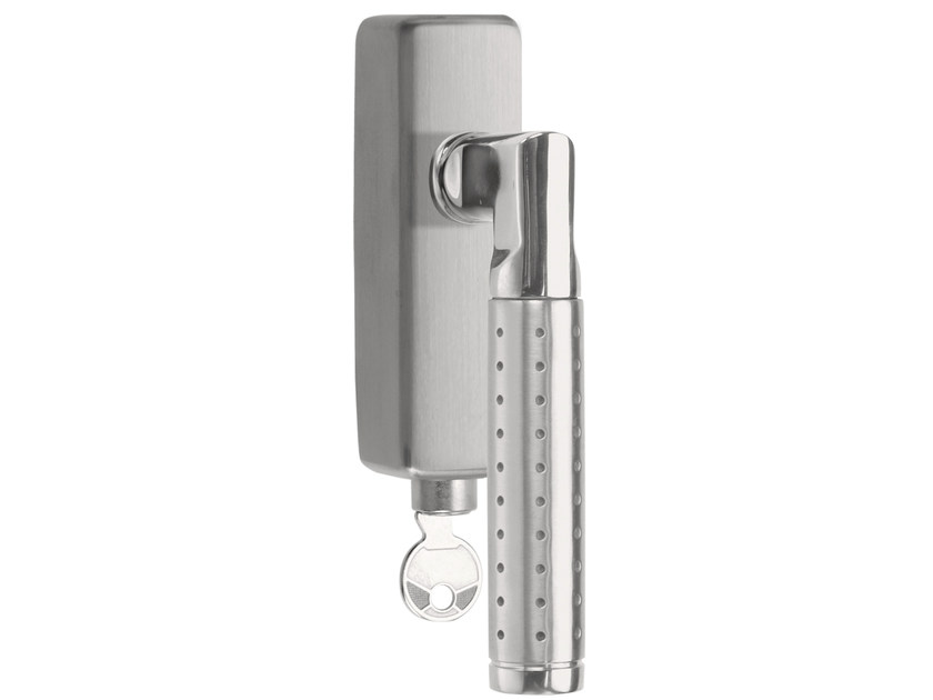 DK stainless steel window handle with lock BASIC | Window handle with lock - Formani Holland B.V.