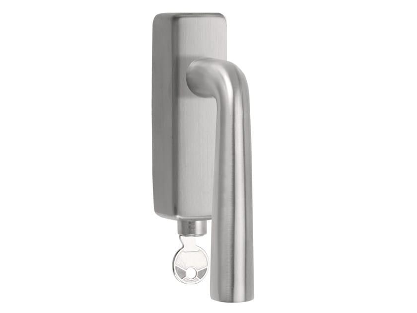 DK stainless steel window handle with lock BASIC | Window handle with lock - Formani Holland B.V.