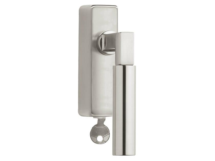 DK nickel window handle with lock TIMELESS 1930 | Window handle with lock - Formani Holland B.V.