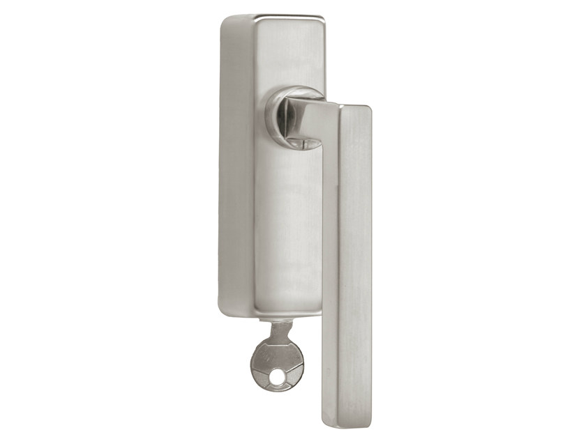 DK nickel window handle with lock TIMELESS 1936 | Window handle with lock - Formani Holland B.V.
