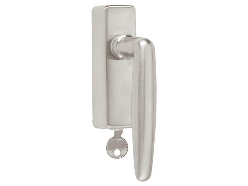DK nickel window handle with lock TIMELESS 1938 | Window handle with lock - Formani Holland B.V.