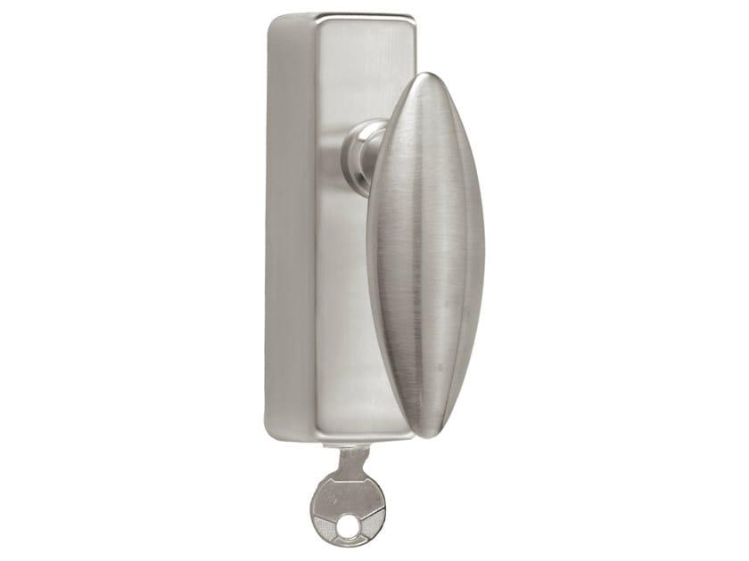 DK nickel window handle with lock TIMELESS 1940 | Window handle with lock - Formani Holland B.V.