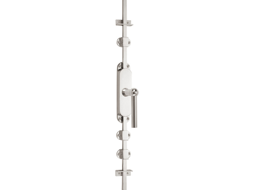 Nickel DK espagnolette bolt TIMELESS 1910 | Window handle on back plate - Formani Holland B.V.