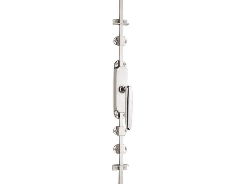 Nickel DK espagnolette bolt TIMELESS 1938 | Window handle on back plate - Formani Holland B.V.