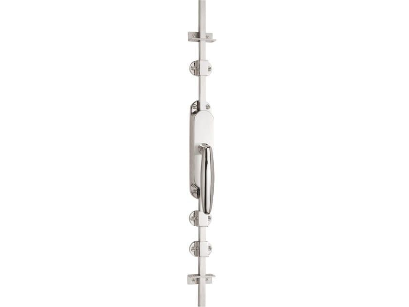 Nickel DK espagnolette bolt TIMELESS 1939 | Window handle on back plate - Formani Holland B.V.