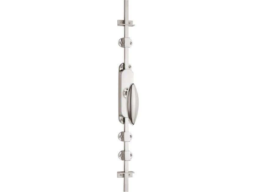 Nickel DK espagnolette bolt TIMELESS 1940 | Window handle on back plate - Formani Holland B.V.