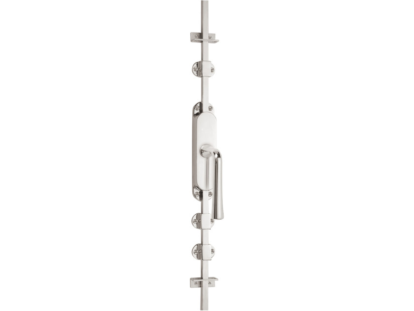Nickel DK espagnolette bolt TIMELESS 1948 | Window handle on back plate by Formani