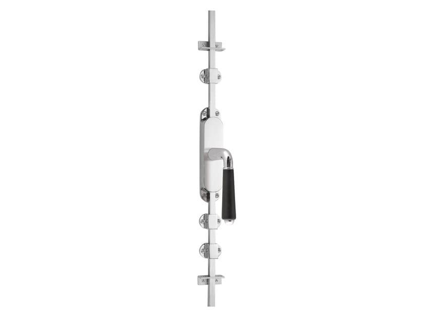 Nickel DK espagnolette bolt TIMELESS 1952 | Window handle on back plate by Formani