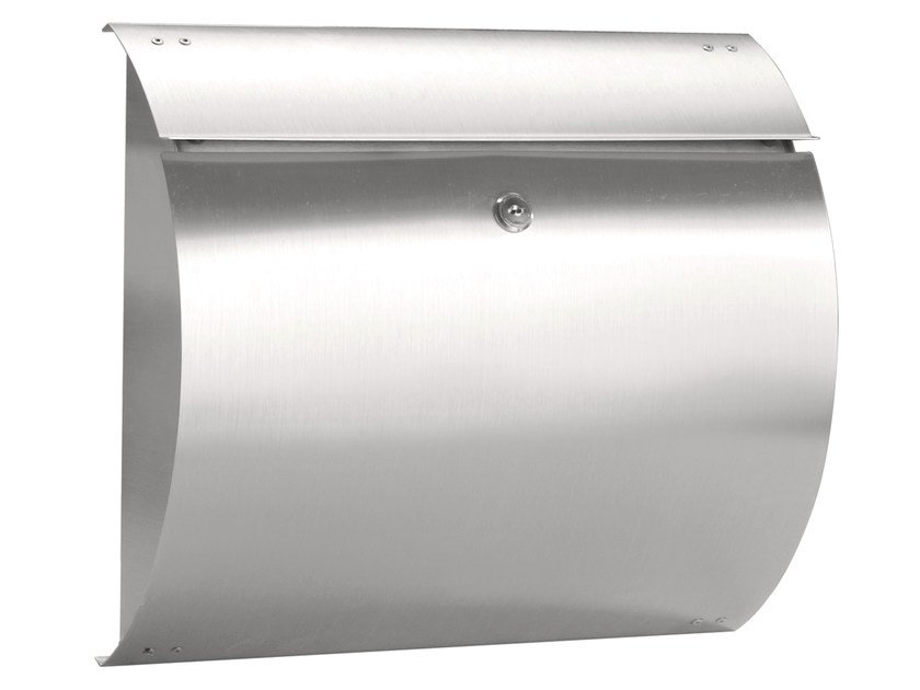 One-sided outdoor stainless steel mailbox SIRIUS - Formani Holland B.V.