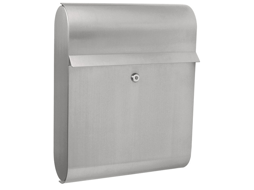 One-sided outdoor stainless steel mailbox ANTARES - Formani Holland B.V.