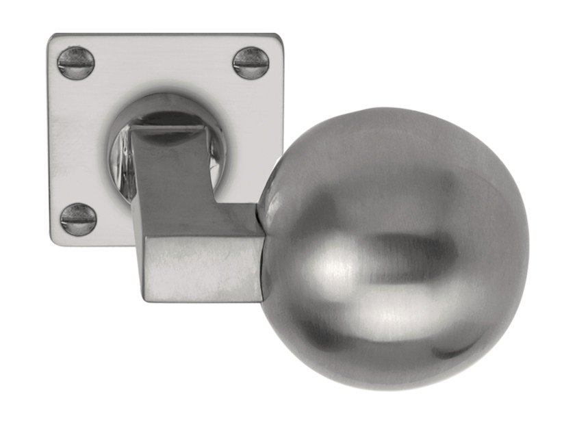 Nickel door knob TIMELESS | Door knob - Formani Holland B.V.