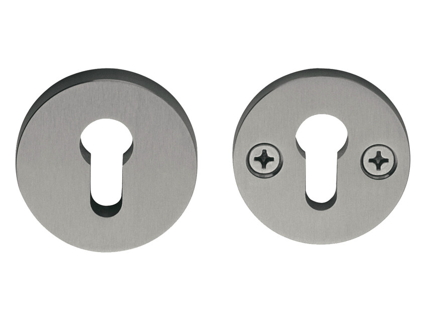 Round metal keyhole escutcheon TIMELESS | Round keyhole escutcheon by Formani