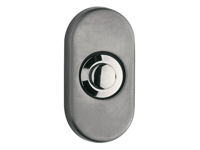 Nickel doorbell button TIMELESS | Doorbell button - Formani Holland B.V.