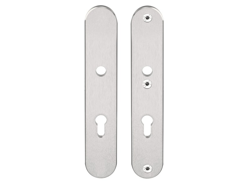 Oval stainless steel backplate BASIC | Stainless steel backplate by Formani