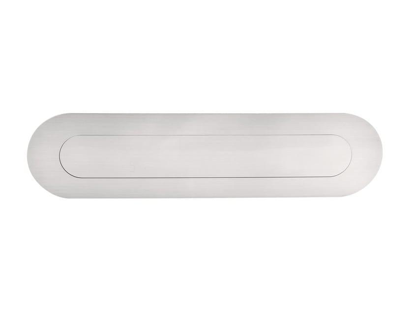 Stainless steel letter plate BASIC | Letter plate - Formani Holland B.V.