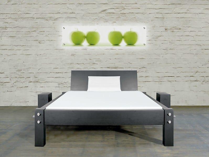 Double bed 318   Bed - Wissmann raumobjekte