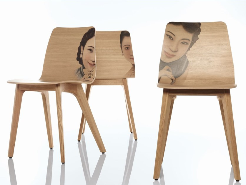 Wooden chair MORPH EDITION - ZEITRAUM