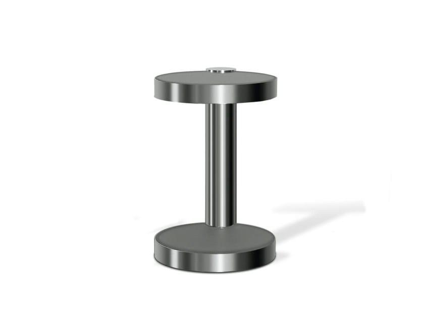 Round steel coffee table for living room 519-50 - Wissmann raumobjekte