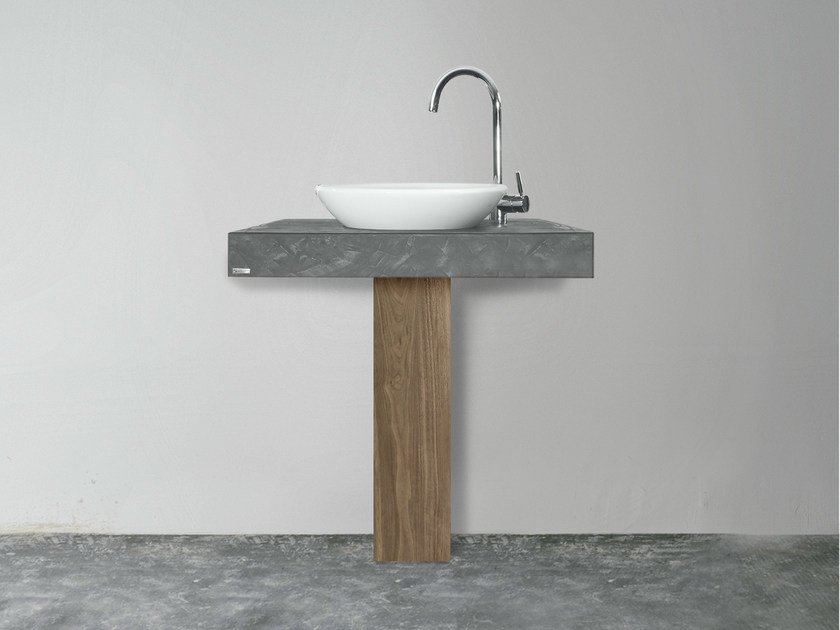 Single washbasin countertop 702 | Washbasin countertop - Wissmann raumobjekte