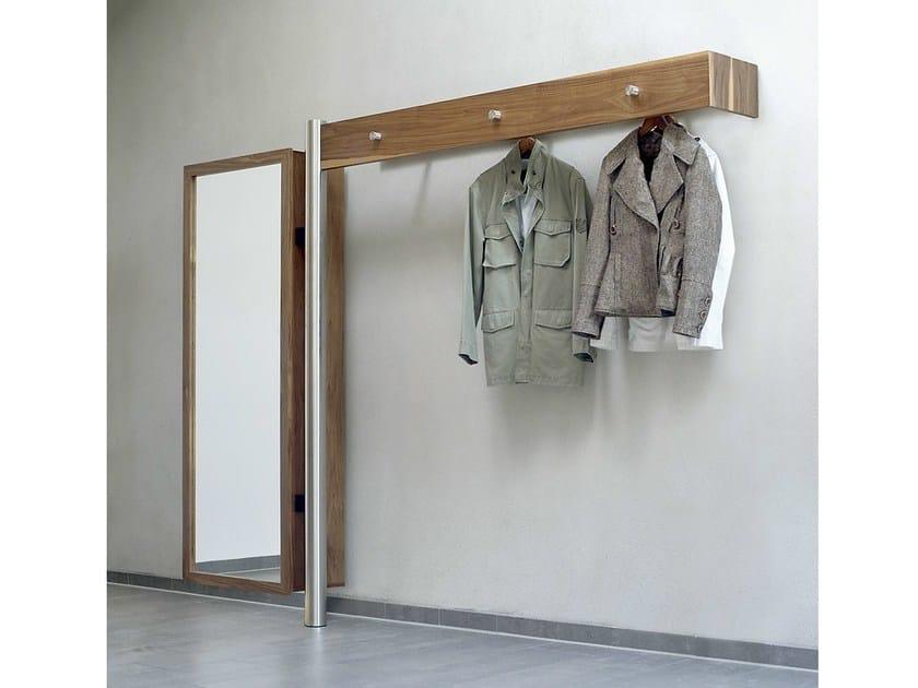 Wall-mounted wooden coat rack 591 | Coat rack - Wissmann raumobjekte