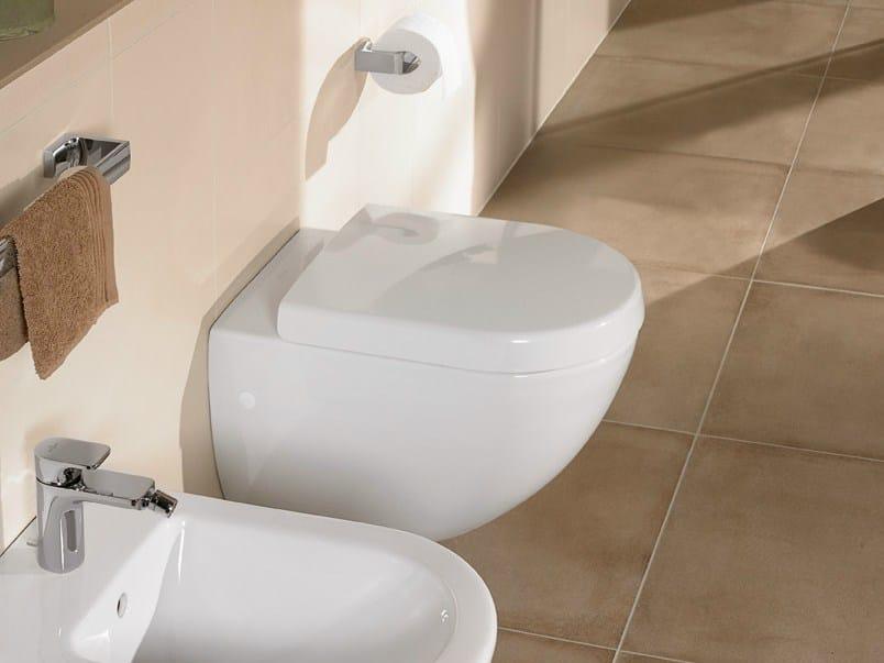 Wall-hung ceramic toilet SUBWAY | Wall-hung toilet - Villeroy & Boch