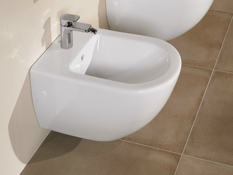 subway wall hung bidet by villeroy boch. Black Bedroom Furniture Sets. Home Design Ideas