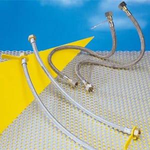 Tubi flessibili per impianti a gas liquido esterni gs standard e gs strong npi italia - Tubo gas esterno ...