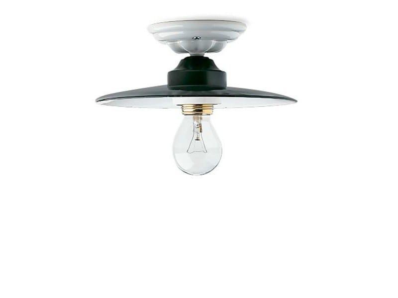 Ceiling lamp 119049 | Ceiling light enamel/ceramic - THPG
